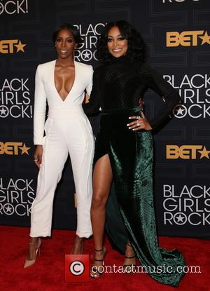 Kelly Rowland and Monica