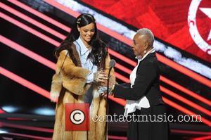 Rihanna and Bethanne Hardison