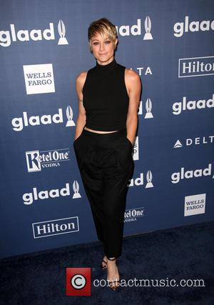 Teri Polo - Celebrities attend the 27th Annual GLAAD Media Awards at the Beverly Hilton Hotel. at Beverly Hilton Hotel...