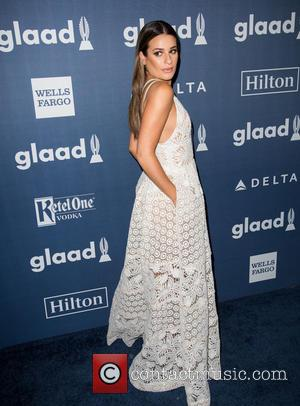 Lea Michele - Celebrities attend the 27th Annual GLAAD Media Awards at the Beverly Hilton Hotel. at Beverly Hilton Hotel...