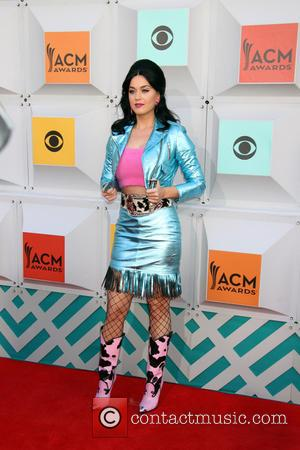 Katy Perry - 51st ACM Awards 2016 held at the MGM Grand Garden Arena inside MGM Grand Hotel & Casino...