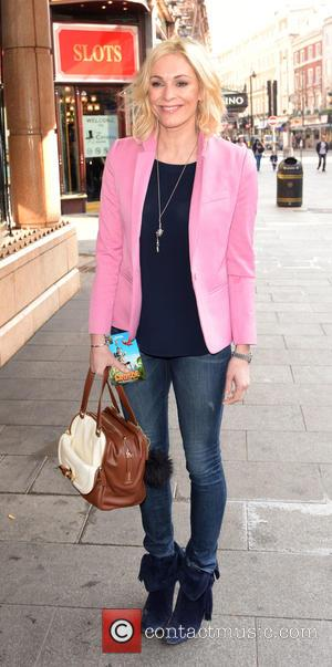 Jenni Falconer - VIP screening of 'Robinson Crusoe' at the Vue West End - Outside Arrivals at W1 - London,...