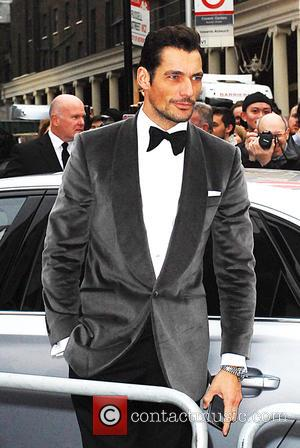 David Gandy - The Olivier Awards held at the Royal Opera House - Outside Arrivals at Olivier Awards 2016 Royal...