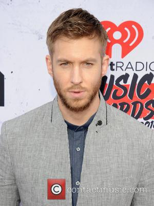Calvin Harris - iHeartRadio Music Awards - Arrivals at The Forum - Inglewood, California, United States - Sunday 3rd April...