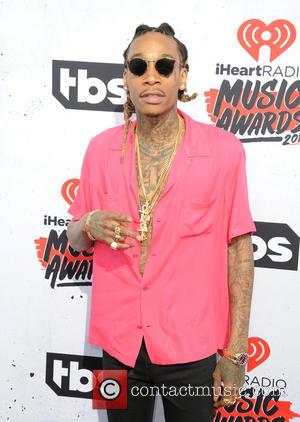 Wiz Khalifa - iHeartRadio Music Awards - Arrivals at The Forum - Inglewood, California, United States - Sunday 3rd April...