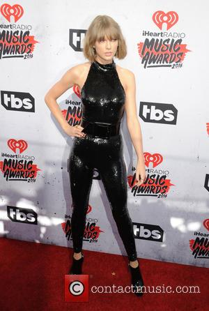 Taylor Swift - iHeartRadio Music Awards - Arrivals at The Forum - Inglewood, California, United States - Sunday 3rd April...
