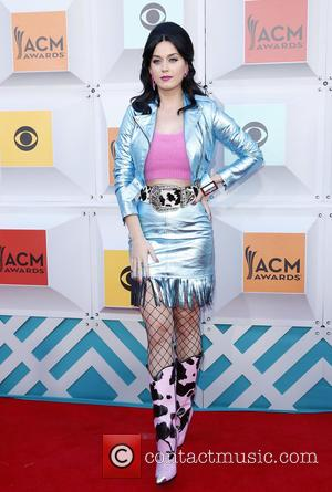 Katy Perry - The 51st Academy of Country Music Awards Red Carpet Arrivals at MGM Grand Garden Arena at MGM...