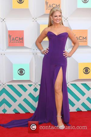 Nancy O'Dell - 51st Academy of Country Music Awards Arrivals at the MGM Grand Garden Arena on April 3, 2016...