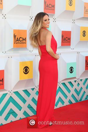 Jana Kramer - 51st Academy of Country Music Awards Arrivals at the MGM Grand Garden Arena on April 3, 2016...