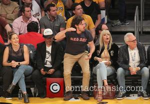 Casey Affleck - Celebrities watch the Boston Celtics defeat the Los Angeles Lakers at The Staples Center at The Staples...