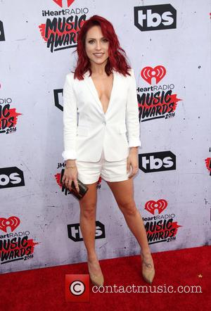 Sharna Burgess - Celebrities attend iHeartRadio Music Awards at The Forum. at The Forum - Los Angeles, California, United States...
