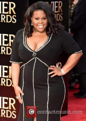 Amber Riley - The Olivier Awards held at the Royal Opera House - Arrivals at Royal Opera House Covent Garden...
