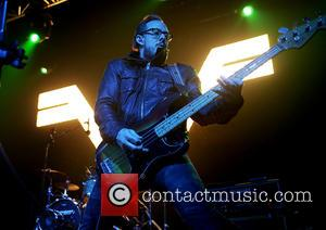 Weezer and Scott Shriner