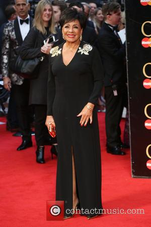 Dame Shirley Bassey - The Olivier Awards 2016 held at the Royal Opera House - Arrivals - London, United Kingdom...