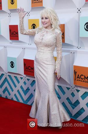 Dolly Parton - The 51st Academy of Country Music Awards Red Carpet Arrivals at MGM Grand Garden Arena at MGM...