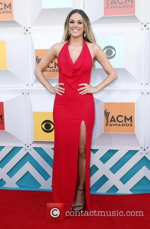 Jana Kramer - The 51st Academy of Country Music Awards Red Carpet Arrivals at MGM Grand Garden Arena at MGM...