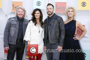 Little Big Town - The 51st Academy of Country Music Awards Red Carpet Arrivals at MGM Grand Garden Arena at...