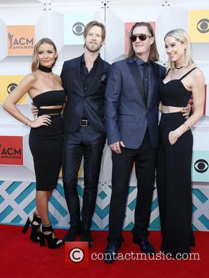 Florida Georgia Line - The 51st Academy of Country Music Awards Red Carpet Arrivals at MGM Grand Garden Arena at...
