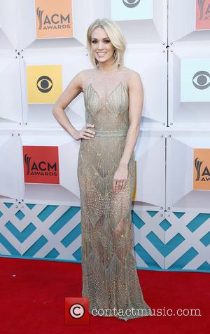 Carrie Underwood - The 51st Academy of Country Music Awards Red Carpet Arrivals at MGM Grand Garden Arena at MGM...