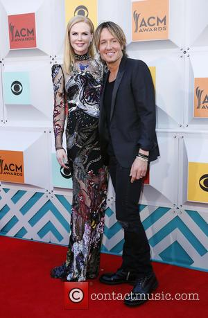 Nicole Kidman , Keith Urban - The 51st Academy of Country Music Awards Red Carpet Arrivals at MGM Grand Garden...