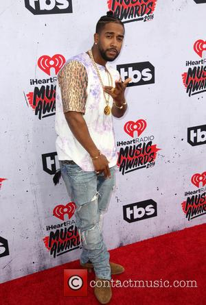 Omarion - Celebrities attend iHeartRadio Music Awards at The Forum. at The Forum - Los Angeles, California, United States -...