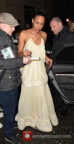 Zawe Ashton - The Olivier Awards held at the Royal Opera House - Departures at wc - London, United Kingdom...