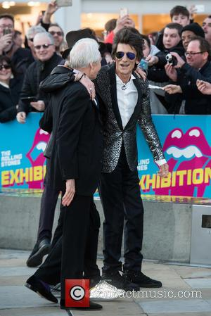 Charlie Watts, Ronnie Wood and Rolling Stones