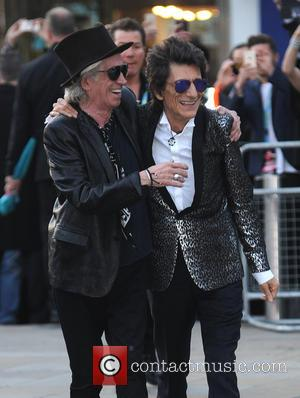Keith Richards and Ron Wood