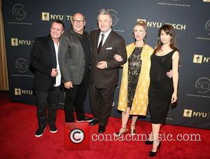 Guest, Carmen Marc Valvo, Alec Baldwin, Allyson Green and Hilaria Baldwin