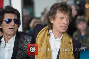 Rolling Stones, Ronnie Wood and Mick Jagger