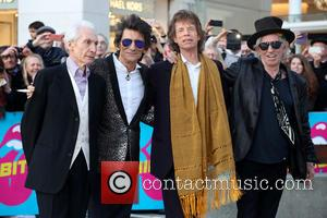 Rolling Stones, Ronnie Wood, Mick Jagger and Charlie Watts