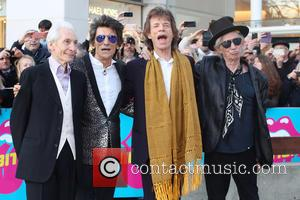 Rolling Stones, Keith Richards, Ronnie Wood, Mick Jagger and Charlie Watts