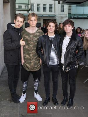 The Vamps, Connor Ball, Bradley Simpson, James Mcvey and Tristan Evans
