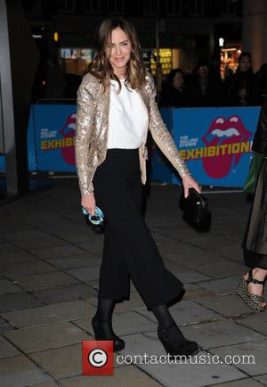 Rolling Stones and Trinny Woodhall