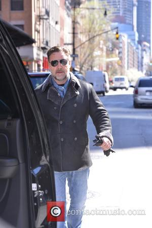 Russell Crowe - Russell Crowe out in New York - Manhattan, New York, United States - Tuesday 5th April 2016