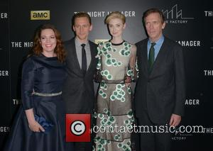 Olivia Colman, Tom Hiddleston, Elizabeth Debicki and Hugh Laurie