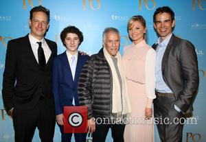 John Asher, Julian Feder, Burt Bacharach, Kaitlin Doubleday and Christopher Gorham