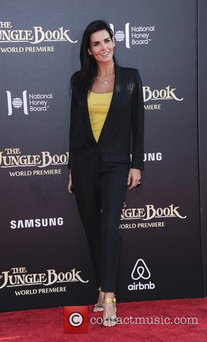 Angie Harmon - Premiere of Walt Disney's 'The Jungle Book' - Arrivals at Disney - Los Angeles, California, United States...