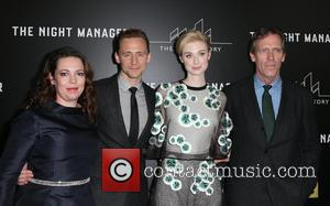 Olivia Coleman, Tom Hiddleston, Elizabeth Debicki and Hugh Laurie