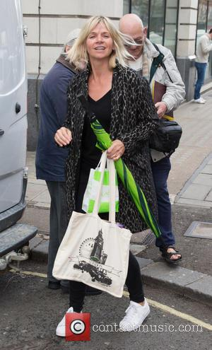 Zoe Ball - Celebrities at the BBC Radio 2 studios at BBC Western House - London, United Kingdom - Wednesday...