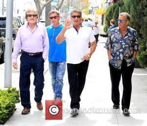 Sylvester Stallone - Sylvester Stallone out and about in Beverly Hills with friends - Beverly Hills, California, United States -...