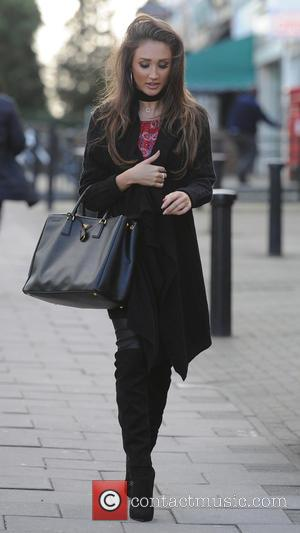 Megan Mckenna - Chloe Lewis bumps into Megan Mckenna and Chloe Meadows in chingford. - London, United Kingdom - Wednesday...