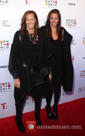 Donna Karen and Gaby