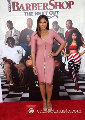 Tamar Braxton - Celebrities attend BARBERSHOP: THE NEXT CUT premiere at TCL Chinese Theatre in Hollywood. at TCL Chinese Theatre...