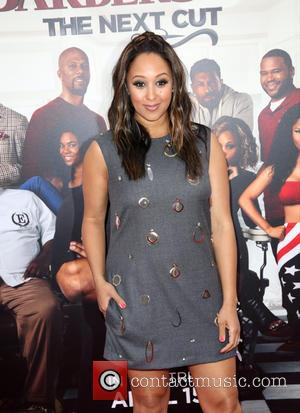 Tamera Mowry-Housley - Celebrities attend BARBERSHOP: THE NEXT CUT premiere at TCL Chinese Theatre in Hollywood. at TCL Chinese Theatre...