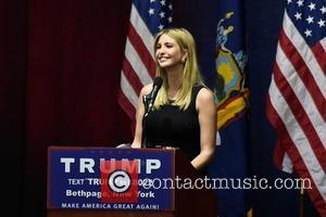 Ivanka Trump - Donald Trump attends his political rally for the presidency of the United States at Grumman studios in...