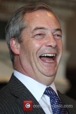 Nigel Farage at Rothesay Terrace Edinburgh
