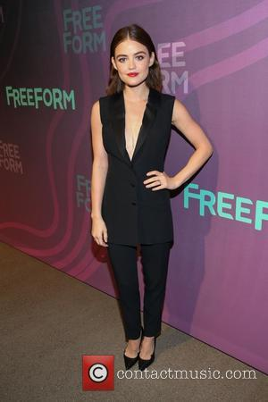 Lucy Hale - ABC Freeform Upfront 2016 at Spring Studios - Arrivals - New York, New York, United States -...