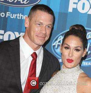 John Cena , Nikki Bella - American Idol Finale held at the Dolby Theatre - Arrivals at Dolby Theatre -...