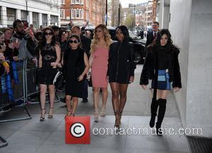Fifth Harmony - Fifth Harmony at BBC Radio 1 - London, United Kingdom - Thursday 7th April 2016